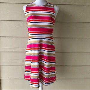 Michael Kors•Pink Stripe Dress